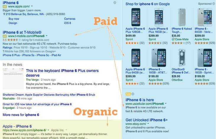 جست و جوی طبیعی و نتایجش راجع به اپل